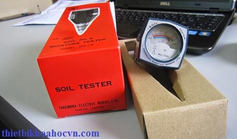 Máy đo độ ẩm và pH đất DM15
